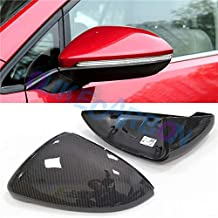 Replacement Carbon Fiber Rear Side Mirror Cover For VW Volkswagen Golf 7 MK7 MK7.5 Golf R Golf Gti MK7 2013-2018