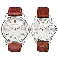 スイスミリタリー腕時計 ローマン(Roman) ペアウォッチ ML381-ML383[正規輸入品]
