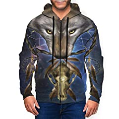Material: It Is Made Of Polyester, Which Is Comfortable And Flexible. Performance: The Men'S Sweatshirt Has Full-Front Zipper, Offering Easy On And Off. Pocket: The Men'S Hoodie Has A Large Pouch Pocket, Offering Convenient Storage, Which Can Store S...