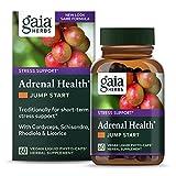 Gaia Herbs Adrenal Health Jump Start, Adrenal Fatigue...
