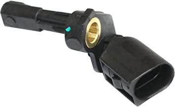 ABS Speed Sensor compatible with Volkswagen Jetta 05-14 ABS Rear Right Side 2 Male Blade Terminals