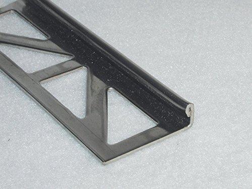Kurt Neidull Fliesen-Abschlussschienen aus Edelstahl, 6 mm hoch