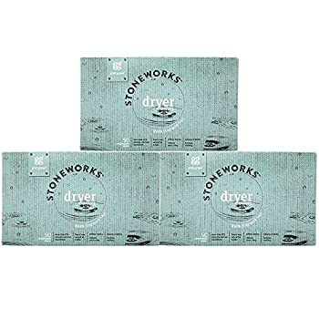 Grab Green Stoneworks Natural Dryer Sheets Rain  Fragrance Free  3 Count