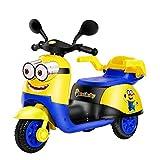 Lotee Juguete for niños La caricatura puede sentarse en el coche eléctrico Motocicleta Hombres y mujeres Control remoto Coche Rc Coche Bebé Triciclo Batería grande Coche de carga Juguete Coche Niños N