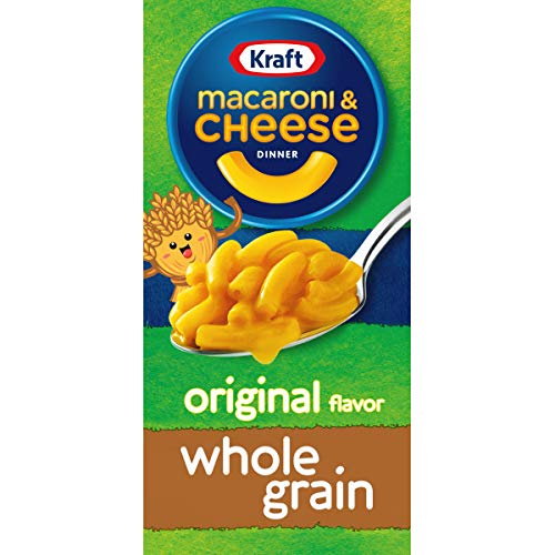 Kraft Original Flavor Whole Grain Macaroni and Cheese Meal 6 oz Boxes Pack of 12