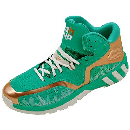 adidas Performance Scarpa Basketball D Howard 6 Verde D69541