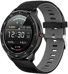 1.La Watch Fitness Supporte plusieurs modes d'exercices, réglage de la luminosité, détection ECG, sélection de composition multiple, détection de fréquence cardiaque continue, podomètre, calories, distance, surveillance du sommeil, rappel d'appel, ra...