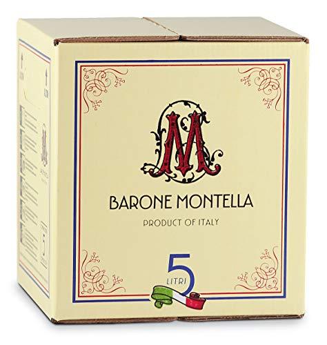 Bag in Box vino Sangiovese di Puglia IGP 12% - Barone Montella - Confezione da 5 L