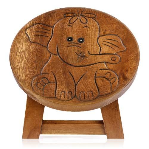 Brink Holzspielzeug Kinder Hocker Elefant Personalisiert Natur Kinderzimmer Holz Wood Geschenk Stabil Tisch Sitzgruppe