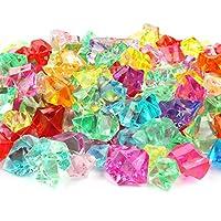 LOT DE 300 : Ce lot de 300 diamant plastique est parfait pour couvrir tous vos besoins. Chaque gemme de notre ensemble mesure entre 1,4cm x 0,8cm et 2,3cm x 1,3cm. Vous apprécierez le design exceptionnel de ces fausses pierres. CONCEPTION DE QUALITE ...