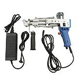 InLoveArts Pistola eléctrica para alfombras(pila cortada), máquina profesional para tejer alfombras, máquina manual para tejer, herramientas para hacer alfombras, 165 r/seg