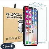 Panzerglas für iPhone X ,YOTECE 2.5D Vollständige Abdeckung Schutzfolie Gehärtetem Glass 9H...