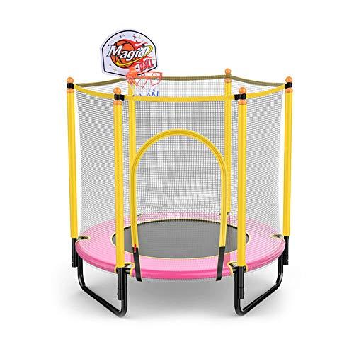 Mini-trampoline met veiligheidsnetbehuizing, indoor outdoor-activiteit voor kinderen Junior trampoline