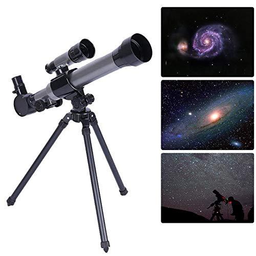 Huante Monocular al aire libre telescopio astronómico con trípode portátil juguete niños