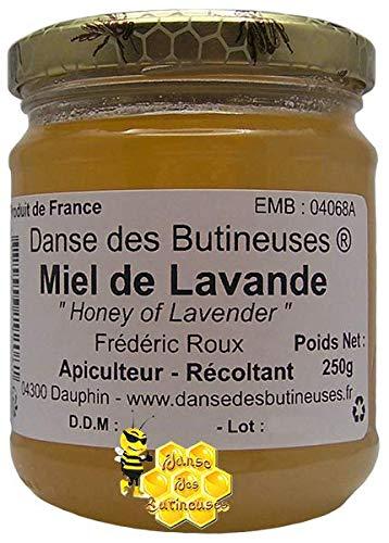 Miel de Lavandes Pot de 250g / Produit de France.