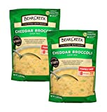 This favorite original Bear Creek soup is thick and creamy, like mom used to make, with a rich blend of cheeses, broccoli and seasonings Try adding chicken, sour cream and shredded cheddar cheese for variety Yields about 8 one-cup servings Just add w...