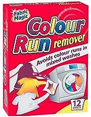 KB Colour Run Removedor de Manchas de Color en Varios Lavados. Tela mágica. 12 Hojas