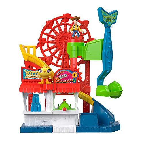 Fisher-Price Disney Pixar Toy Story 4 Carnival Playset JungleDealsBlog.com