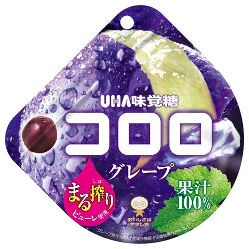UHA味覚糖 コロロ グレープ 48g×6袋入×(2ケース)