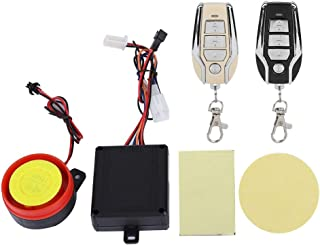$64 » 12V Motorcycle Security Kit Alarm System Anti Hijacking Cutting Off Remote Engine Start Arming Disarming, Electric Bike An...