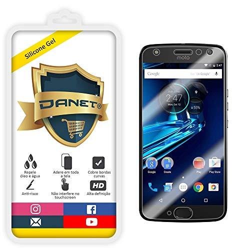 Película de Gel Silicone Flexível Para Motorola Moto X4 com Tela de 5.2 Polegadas - Proteção Que Adere E Cobre Toda A Tela - Danet