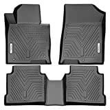 YITAMOTOR Floor Mats Compatible with Optima & Sonata, Custom Fit Floor Liners for 2016-2020 Kia Optima, 2015-2019 Hyundai Sonata, 1st & 2nd Row All Weather Protection, Black