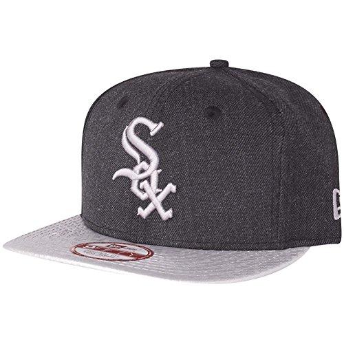 New Era 9Fifty Snapback Cap - HEX Chicago White Sox noir
