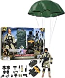 Click N' Play Military Airborne Paratrooper 12''...