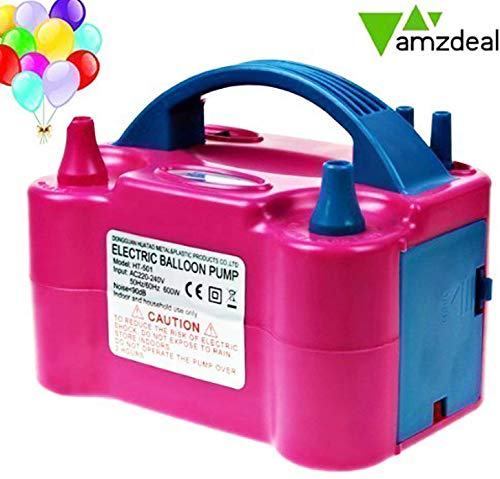Amzdeal Électrique gonfleur ballon 600W,Pompe...