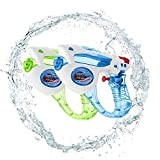 Cool Star War Water Guns Super Water Blaster Clear Soaker Squirt 200CC Moisture Capacity Party and Outdoor Activity Water Fun Blaster for Kids,Beach Pool Water Game 3PCS