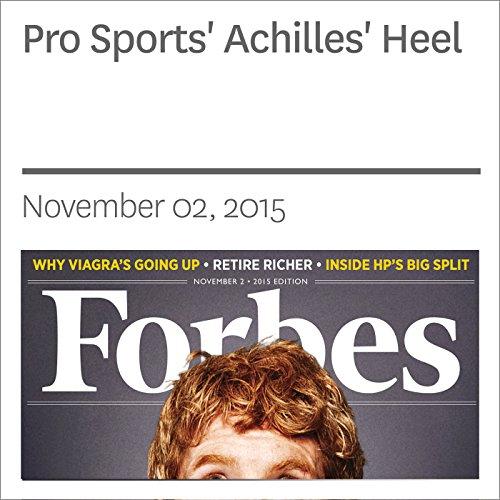 Pro Sports' Achilles' Heel audiobook cover art