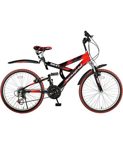 Hero Sprint Next 26T 18 Speed Mountain Best Gear Cycles Under 10000 (Red/Black)