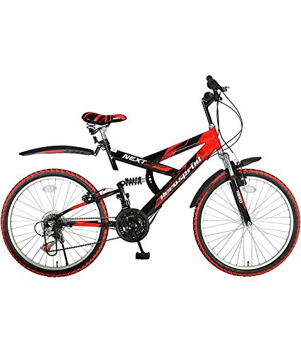 Hero Sprint Next 26T 18 Speed Mountain Cycle (Red/Black)