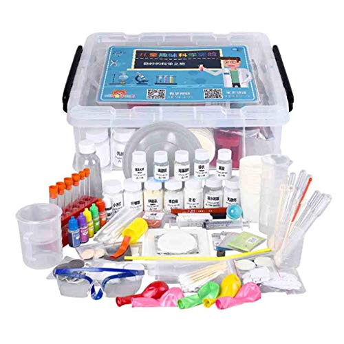 Cuthf Kids Science Experiments Kit Full Scientist Costume for Kids Ages 5-10