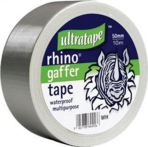 Ultratape Rhino 50 mm 50 m Multipurpose Gaffer Tape Silver