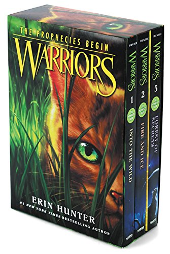 Warriors Box Set: Volumes 1 to 3: Into the Wild, Fire and Ice, Forest of Secrets (Warriors: The Prop