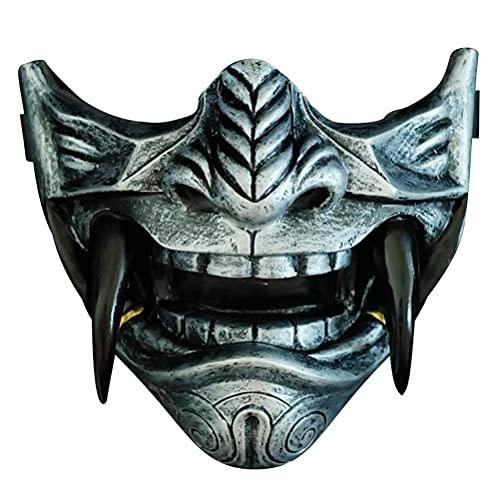 SASKATE Máscara de Samurai de Demonio Japonés, Máscara de Demonio Japonés de...