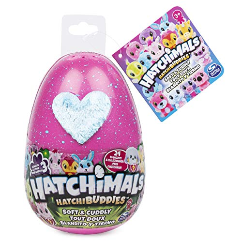 HATCHIMALS Peluche Hatchibuddies, 6″