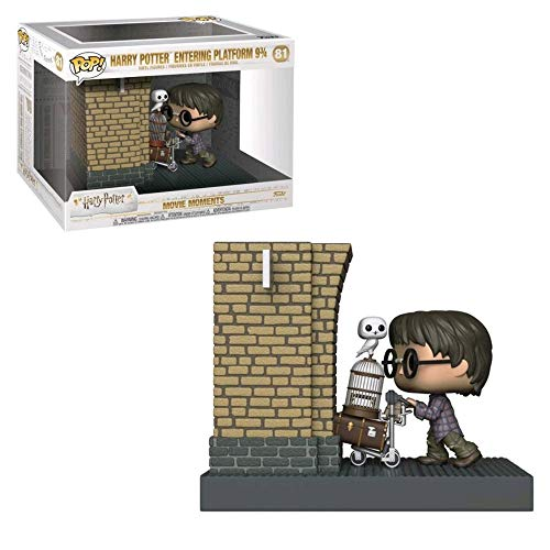 Funko POP! Movie Moments Harry Potter: Harry Potter entrando en la plataforma 9 3/4