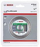 Bosch Professional Disco de corte de diamante Best para cerámica dura (azulejos, 76 x 10 mm,...
