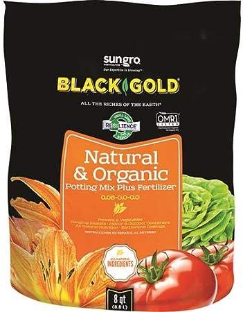 Black Gold 1302040 8 Quart All Organic Potting Soil Amazon Co Uk Garden Outdoors