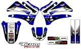 Team Racing Graphics kit compatible with Yamaha 2000-2007 TTR 125, ANALOG Base kit