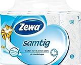 Zewa Toilettenpapier 'Samtig' 3-lagig, 24 x 140 Blatt (24 Rollen)