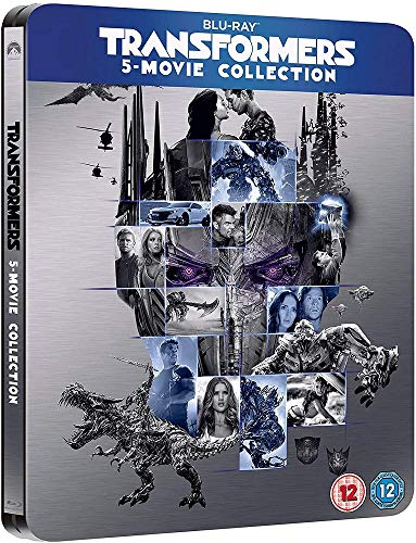 Transformers 5-Movie Collection [Blu-ray] [Steelbook]