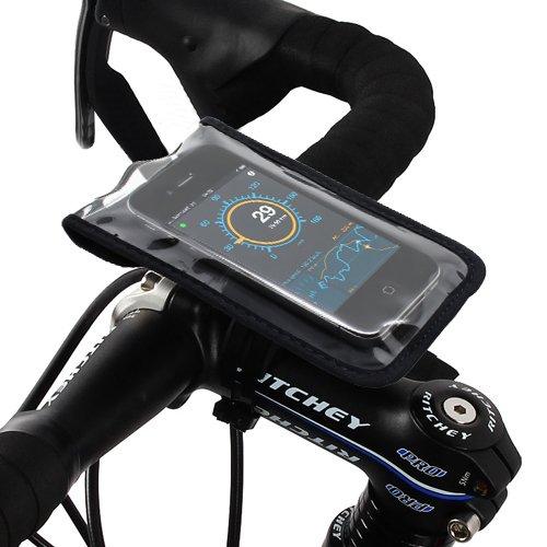 Satechi Bikemate Slim Hülle 3 - kompatibel mit iPhone 5S, 5C, 5, 4S, 4, 3GS, 3G, BlackBerry Torch, HTC EVO, HTC Inspire 4G, HTC Sensation, Droid X, Droid Incredible, Droid 2, Droid 3, Samsung EPIC, Galaxy S2, S3