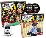 Escape Room Das Spiel - Set de expansión The Magician + Casino + 2 pegatinas de salida + 1 adorno de metal