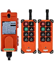 Transmisores de control remoto inalámbrico de grúa receptor de canal industrial controlador de grúa