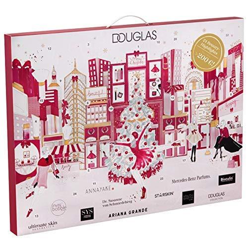 Douglas Adventskalender - Exklusiver Beauty Adventskalender - Douglas New York mit 24 Beauty Überraschungen Limited Edition (Warenwert über 200€) + Travel Set Kit