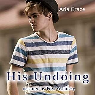 His Undoing: A Gay For You Erotic Short Story audiobook cover art