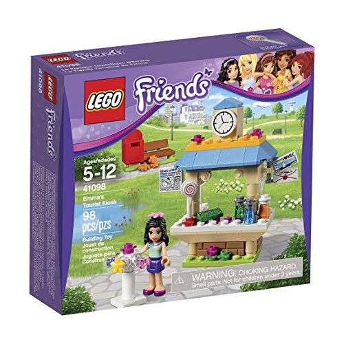LEGO Friends 41098 Emma's Tourist Kiosk Building Kit by